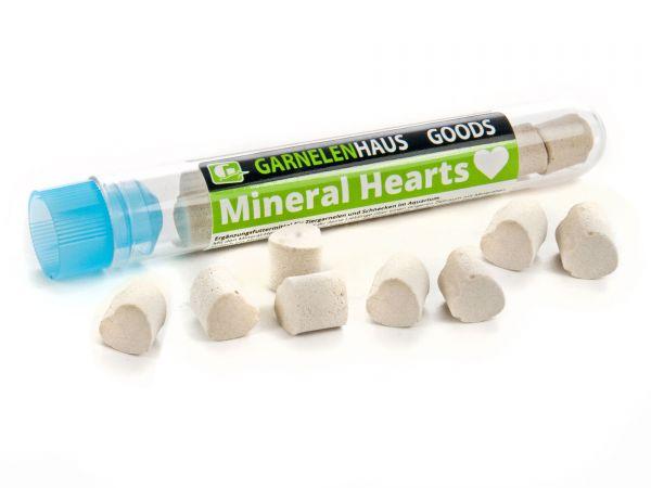 GH-GOODS - Mineral Hearts (Mineralien-Herzchen) für Garnelen und Schnecken im Aquarium