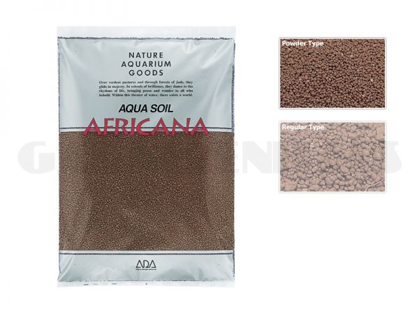 Aqua Soil - Africana Powder, 3 l