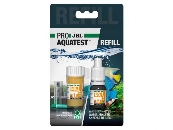 JBL - Pro Aquatest NO3 (Nitrat) Reagenz, Refill-Pack (Nachfüllung)